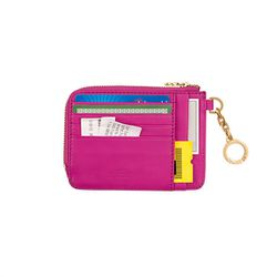 "Kate Spade Saturday wallet, <a href=""http://www.saturday.com/Card-Coin-Wallet-in-Nappa-Leather/4JRU0105-90,en_US,pd.html?dwvar_4JRU0105-90_color=645&cgid=saturday-root"">$35</a>"
