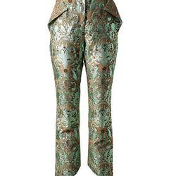 <b>Vika Gazinskaya</b> Gold Pants, $930 (were $2,325)