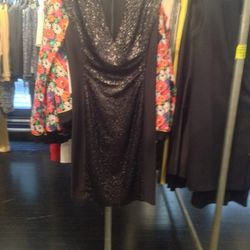 Sequined dress, $348 (was $995)
