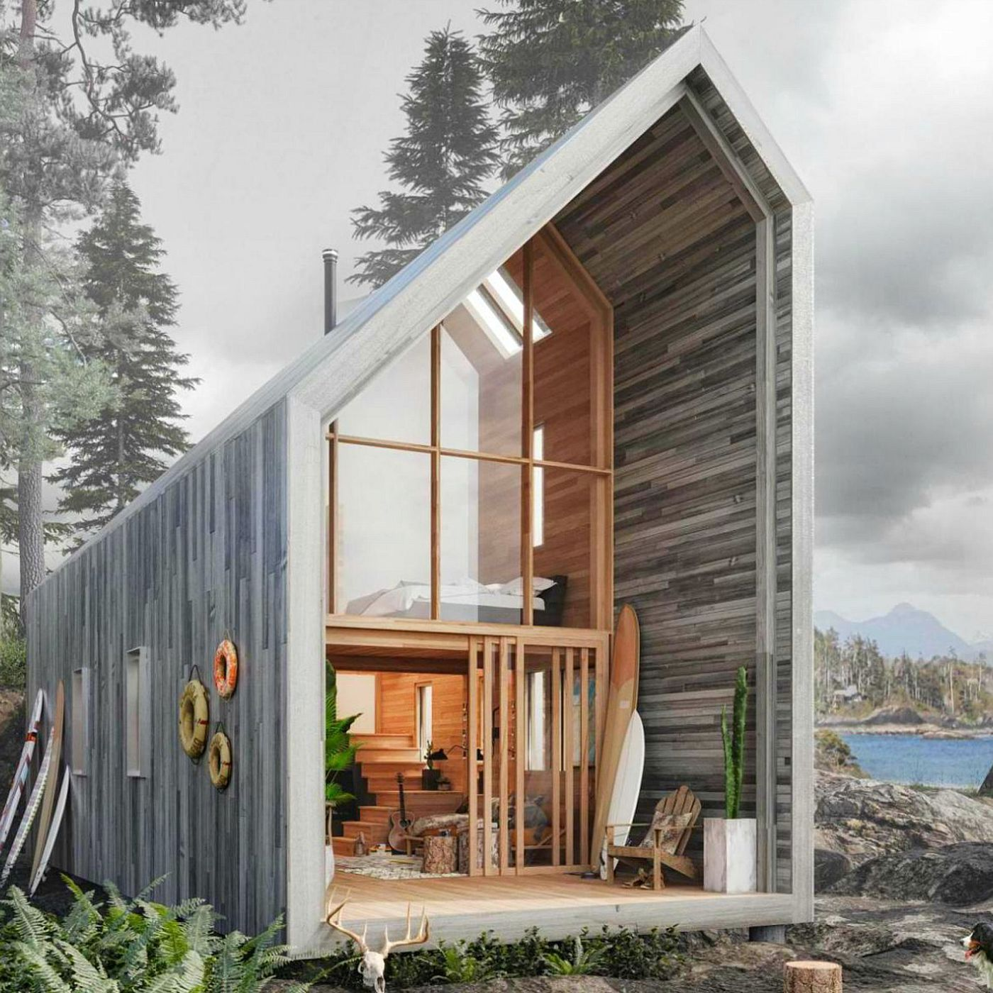 Prefab home offers nature getaway, flatpack-style - Curbed