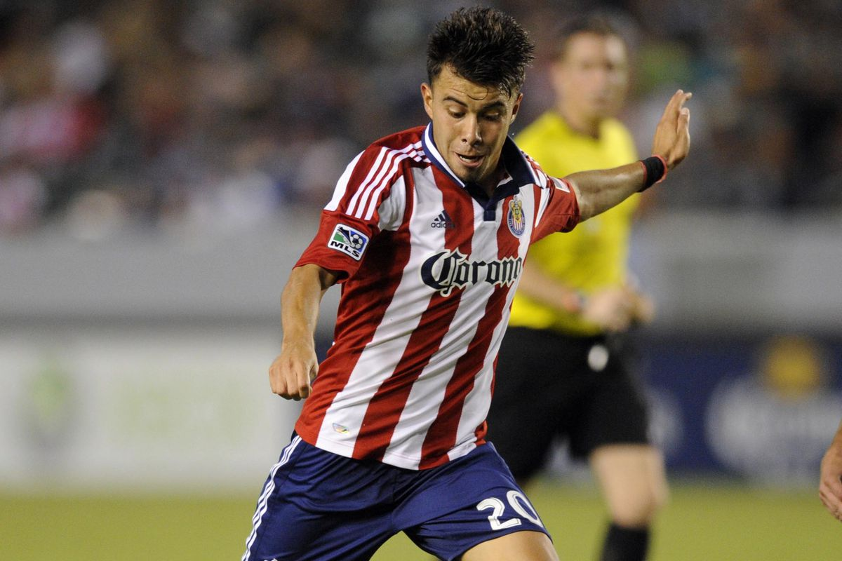 Carlos Alvarez is one of several key young players for Chivas USA going into next season.