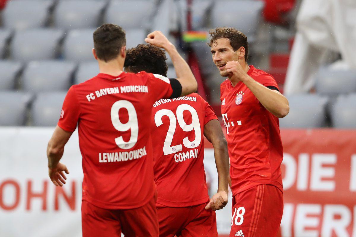 Hansi Flick, Leon Goretzka, Thomas Muller react to Bayern ...