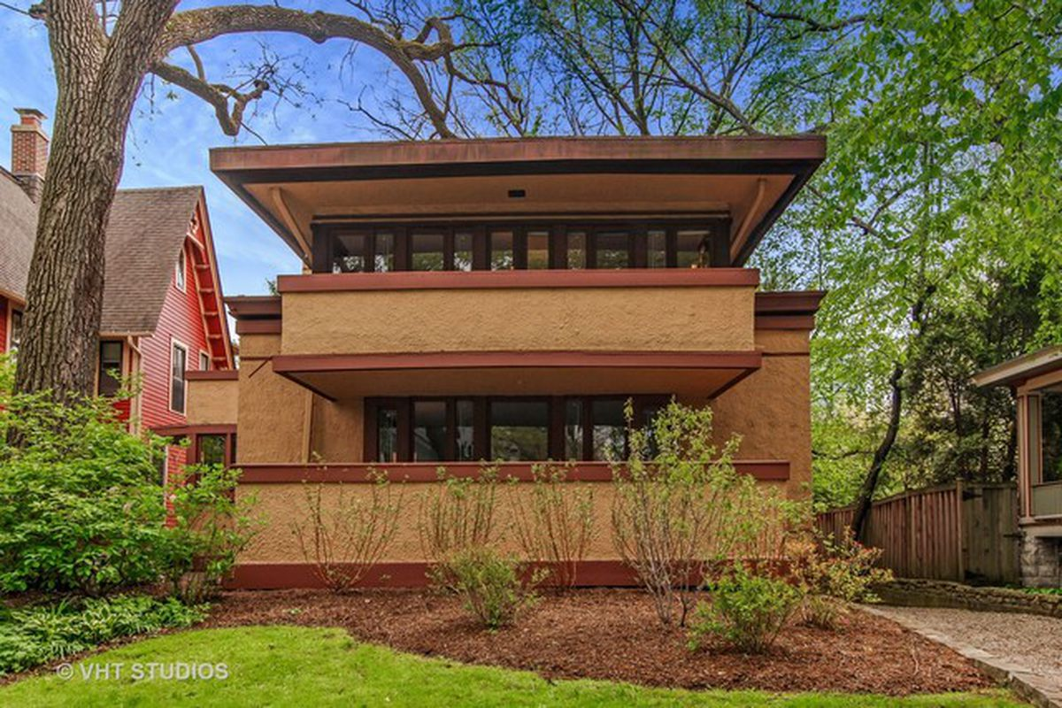 frank lloyd wright 39 s laura gale house returns asking curbed chicago. Black Bedroom Furniture Sets. Home Design Ideas