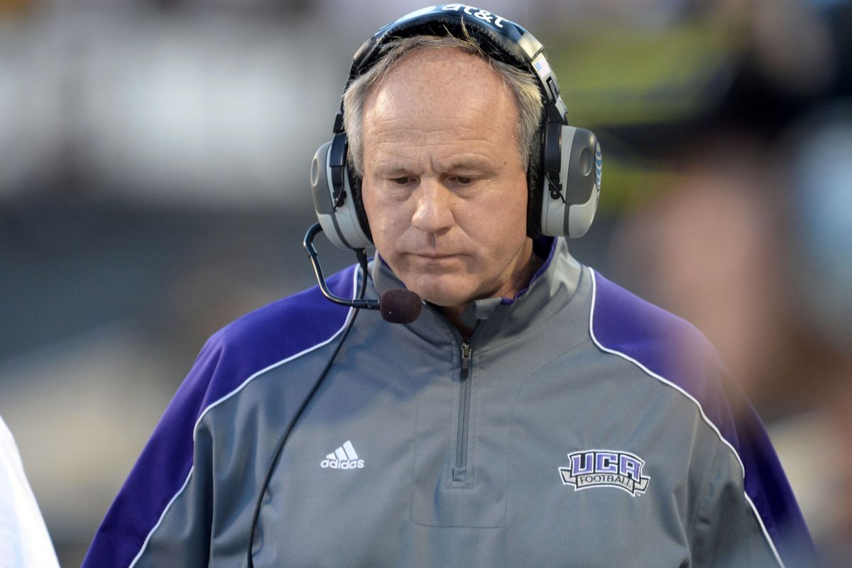 He took Central Arkansas from D-II to FCS playoff regular. Now, Clint Conque's in Nacogdoches, rebuilding.