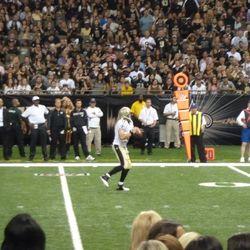 Drew throwing to Stills for a touchdown.