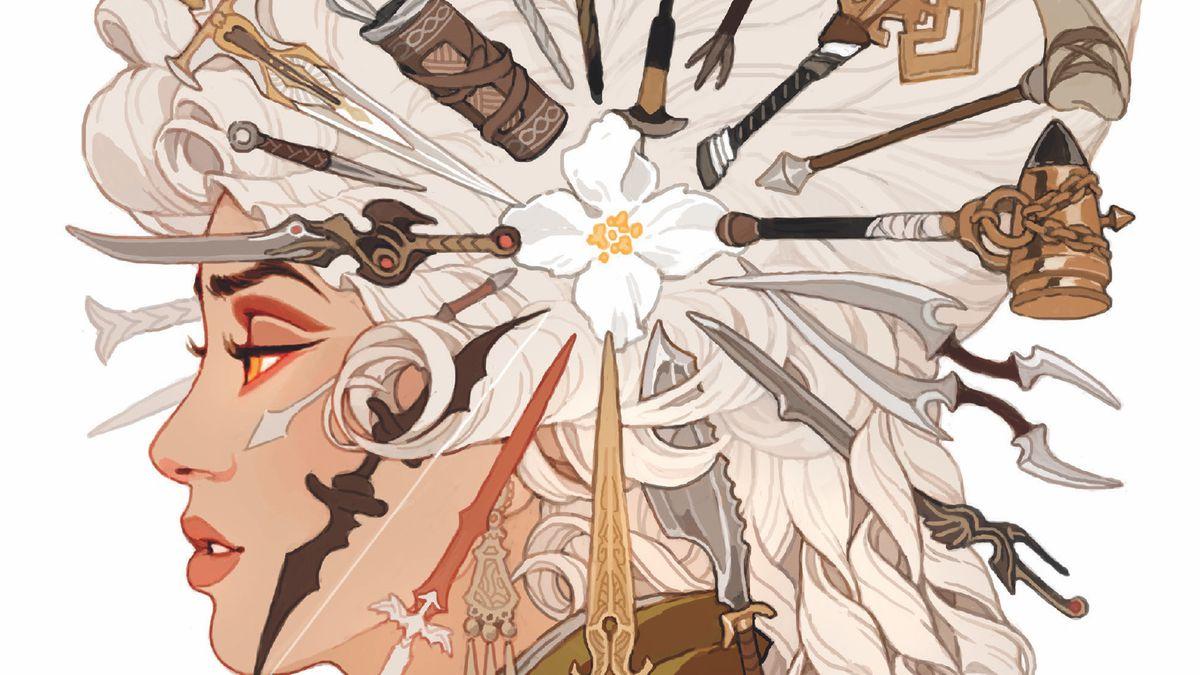 The cover of Dragon Age: Deception #1, Dark Horse Comics (2018).