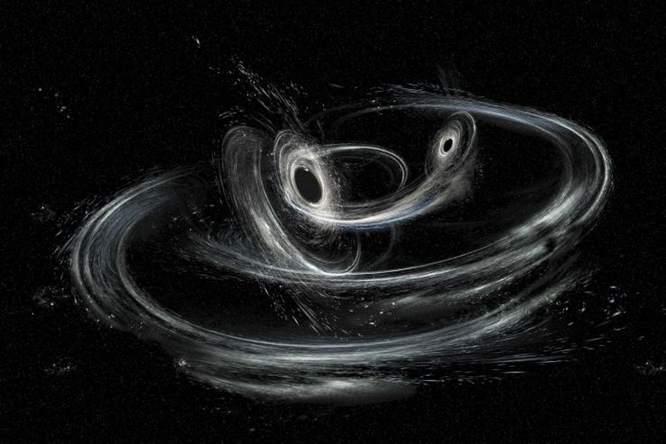 gravitational wave hunters have picked up signals from the lightest black holes yet