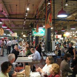 Reading Terminal Market: More people eat here than in all of the other dining rooms combined, and it represents Philly well. Some of our best food options line the hall of the RTM, and the environment only adds to the energy.