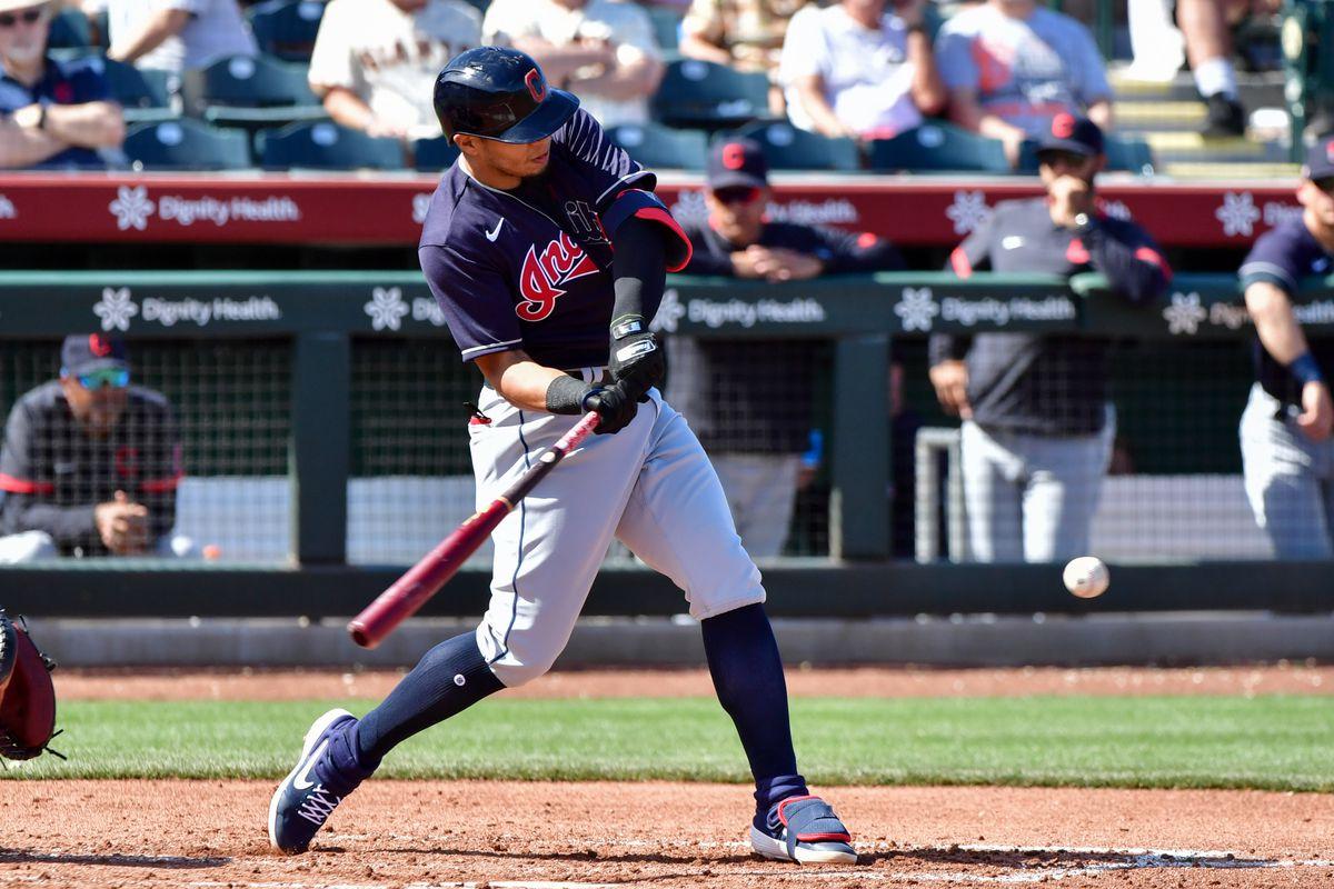MLB: Spring Training-Cleveland Indians at San Francisco Giants