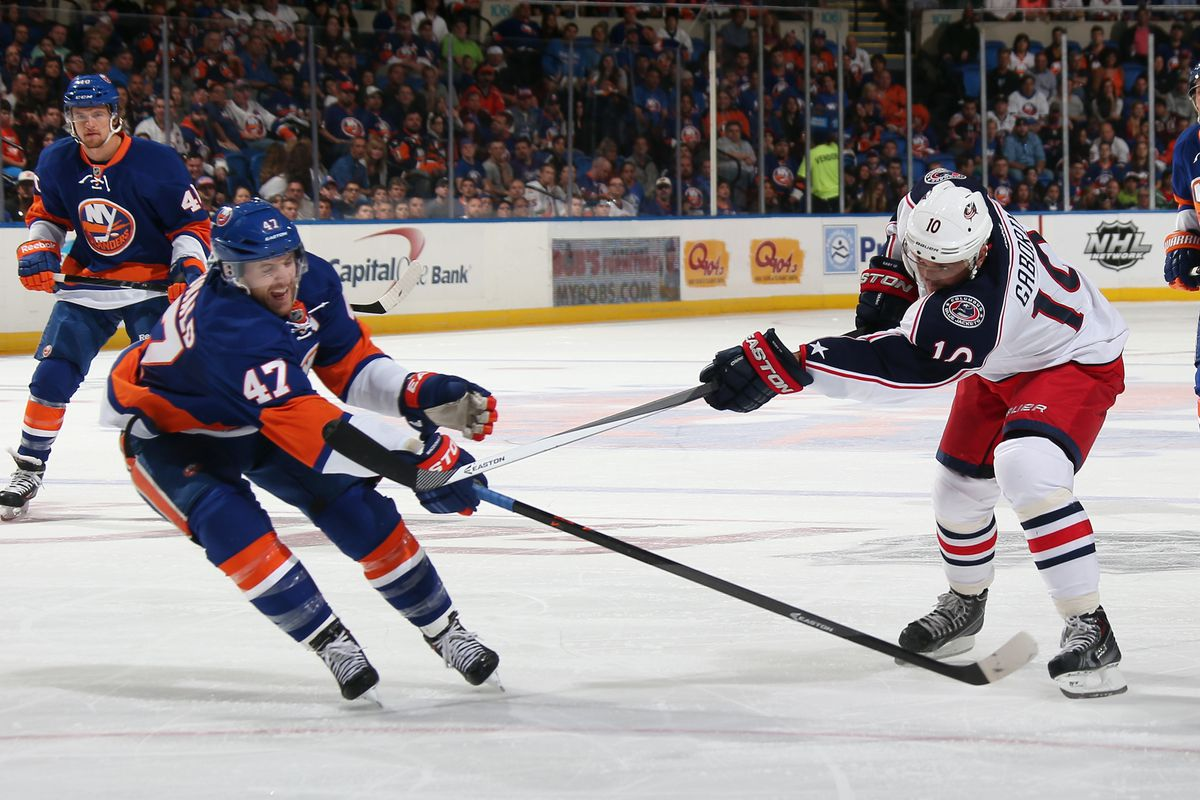 Andrew MacDonald and Marian Gaborik, two players who could be on the move before the trade deadline.