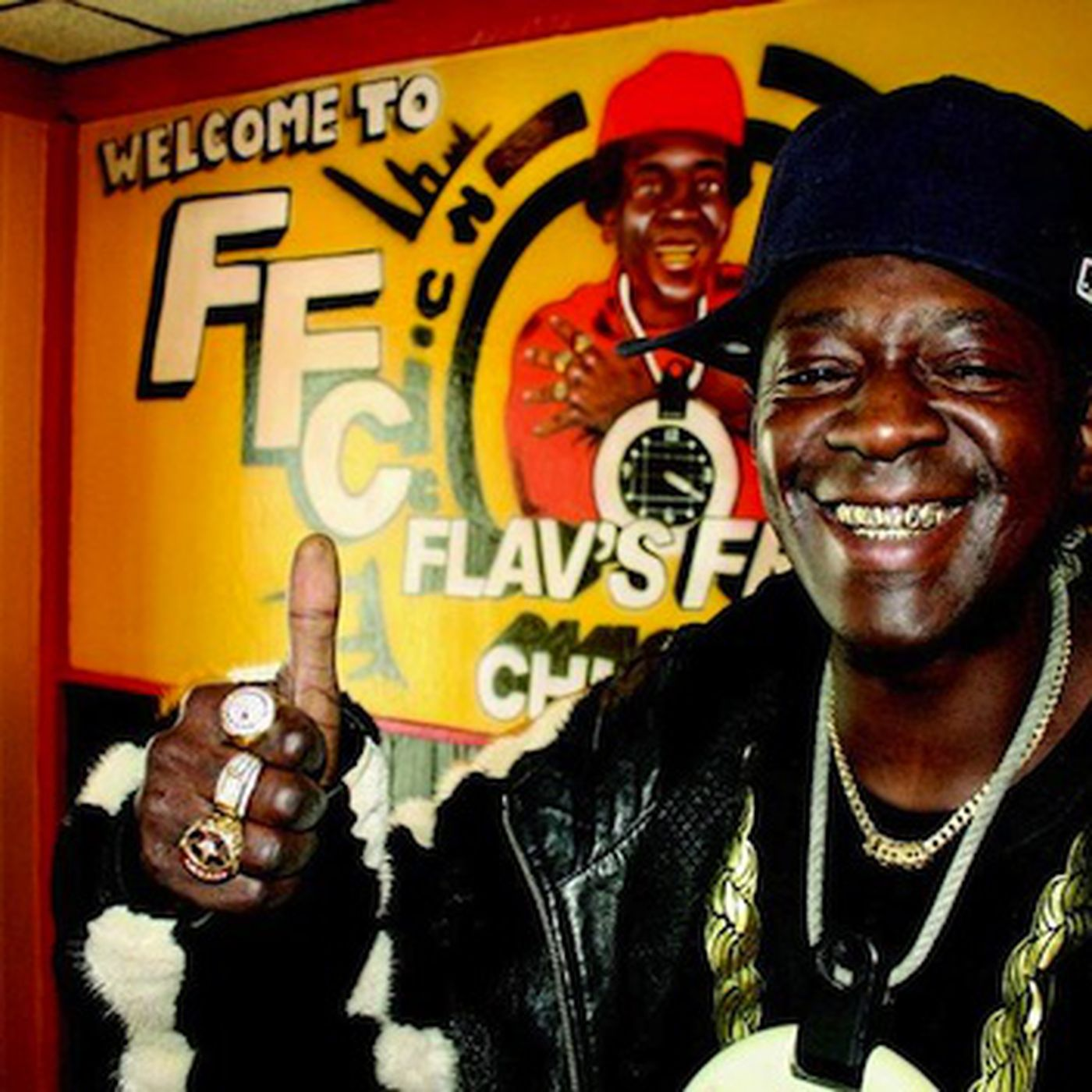 Image result for flavor flav fried chicken