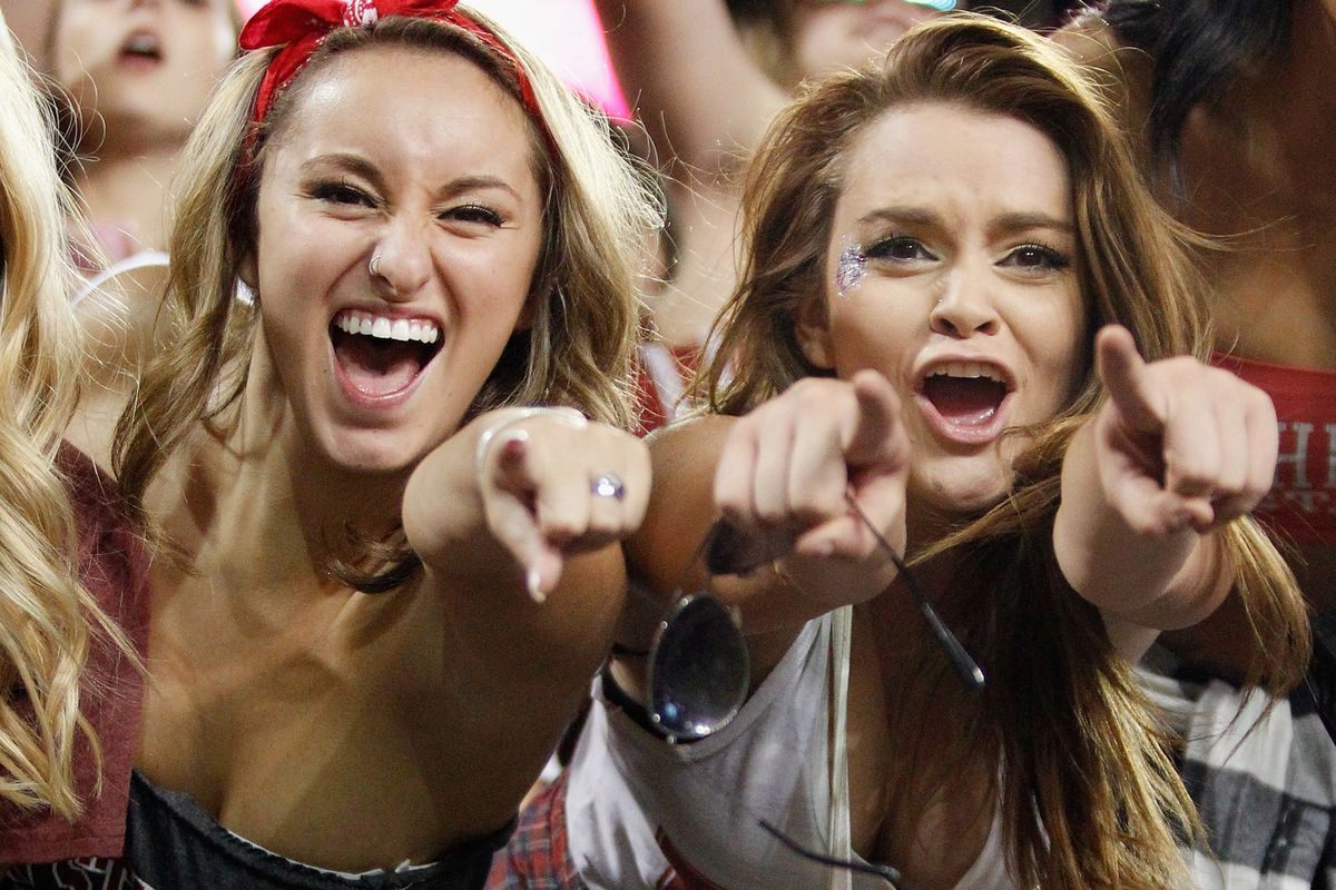 The freaks were out and stoked in Pullman as the Cougs mounted their upset bid over Oregon.