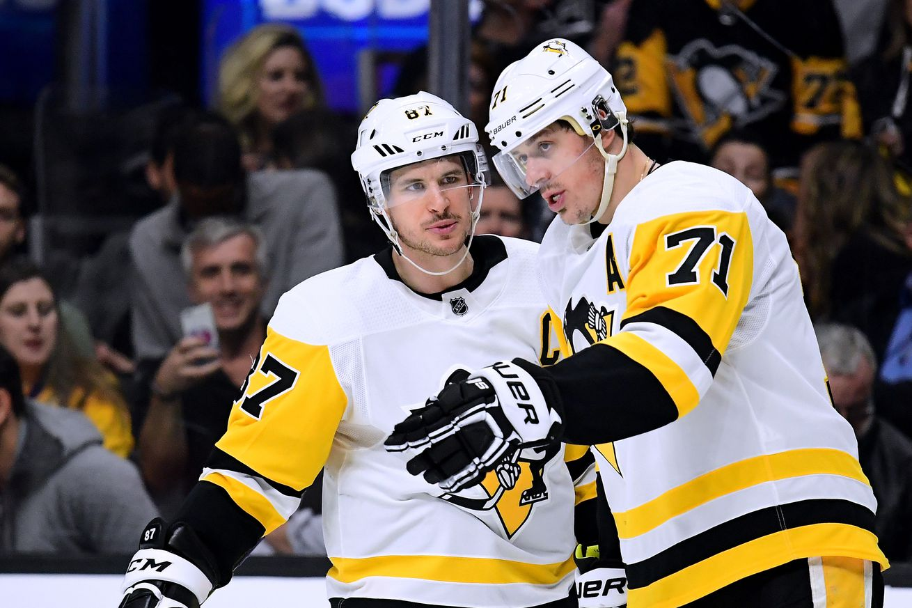 Watch Sidney Crosby play mini sticks with Nikita Malkin