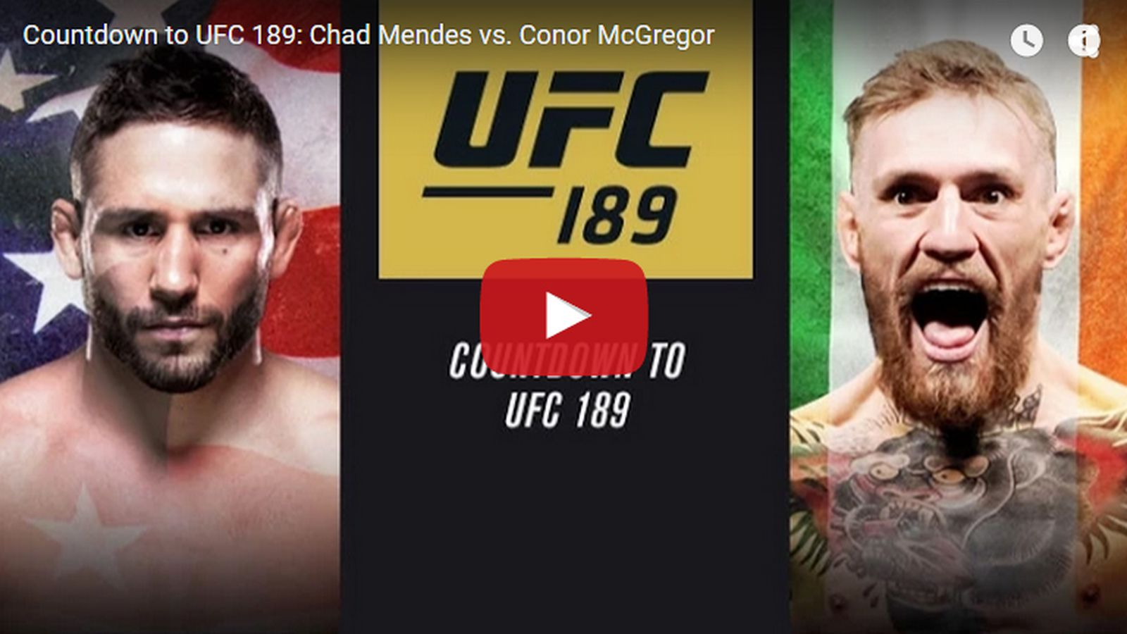 Countdown' to UFC 189 full vid...