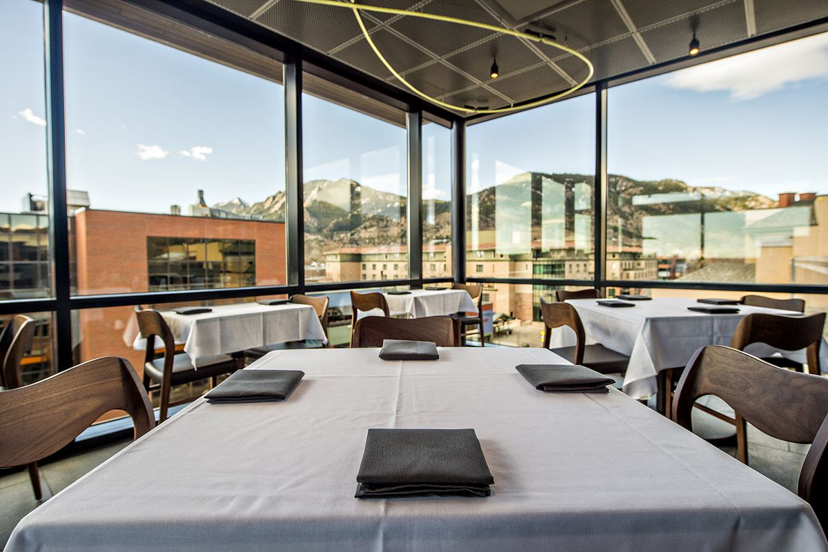 Corrida Image corrida brings unmatched views and spanish food to downtown boulder