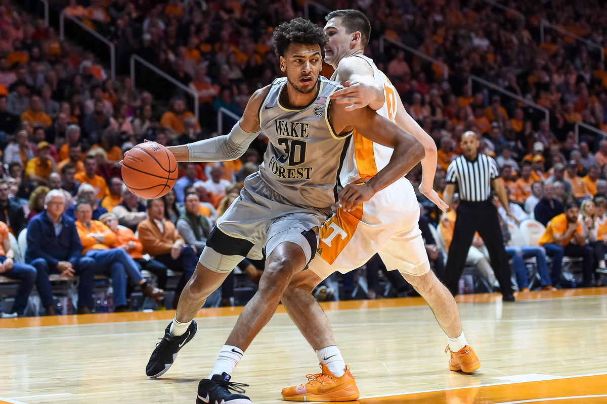 COLLEGE BASKETBALL: DEC 22 Wake Forest at Tennessee