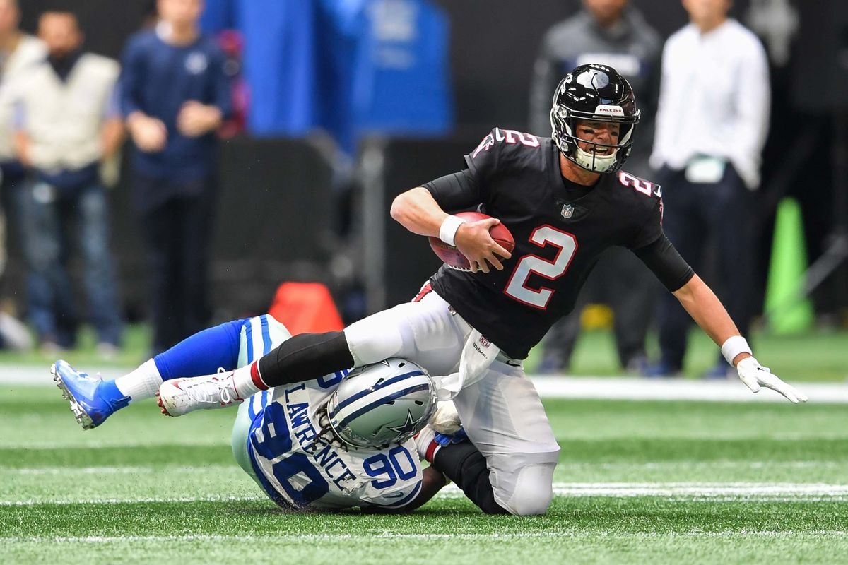 Cowboys 22 - Falcons 19 final score  Playoff hopes take a massive hit in  painful loss 4becf6011