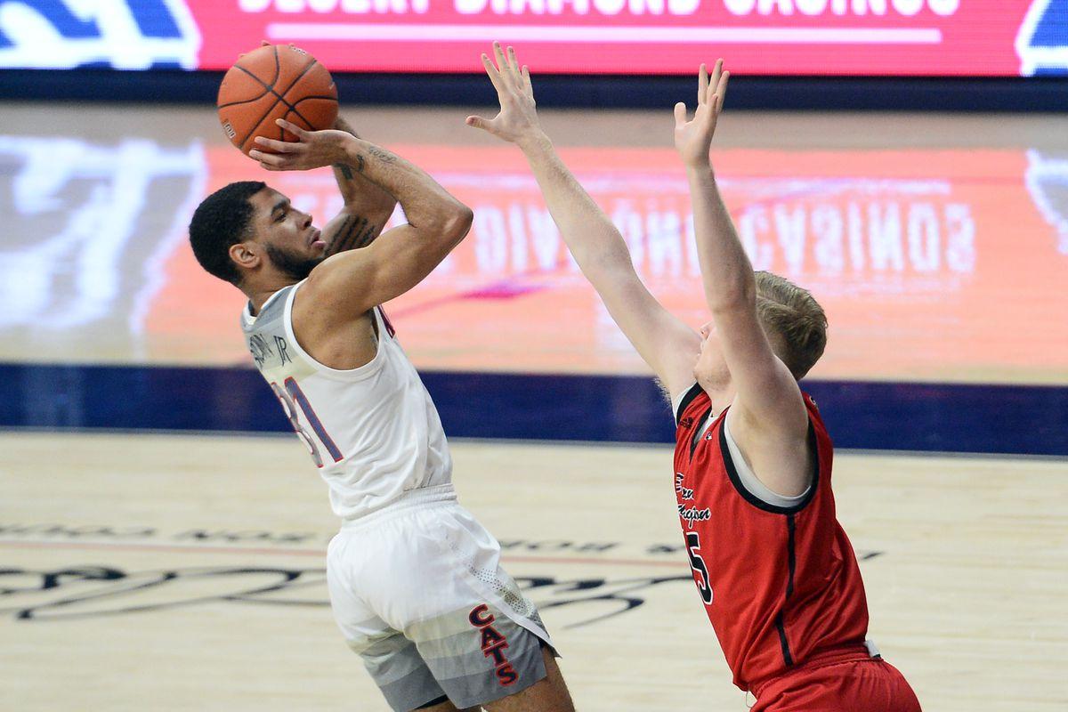 NCAA Basketball: Eastern Washington at Arizona