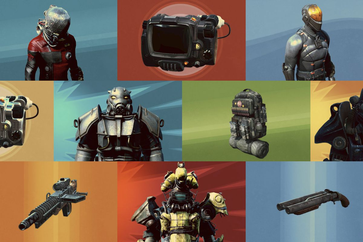 Fallout 4 Creation Club Mods by Bethesda Power Horse Armor