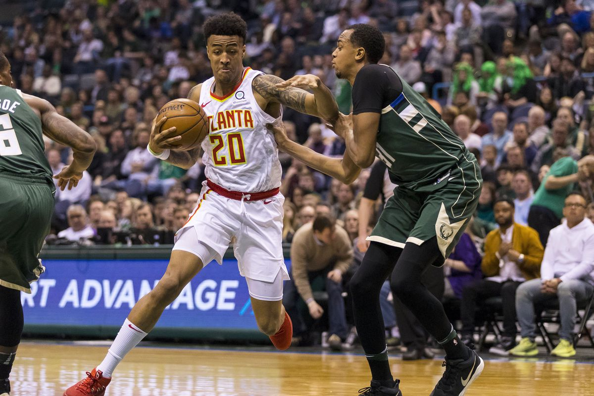 John Collins exits Bucks game with left ankle sprain ...