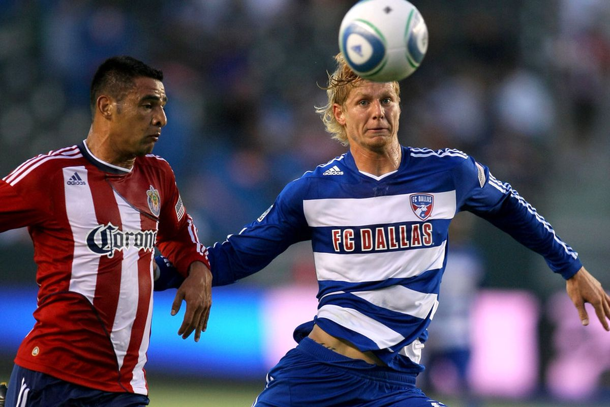 Slowing down Brek Shea will be important in tomorrow's match. (Photo by Victor Decolongon/Getty Images)