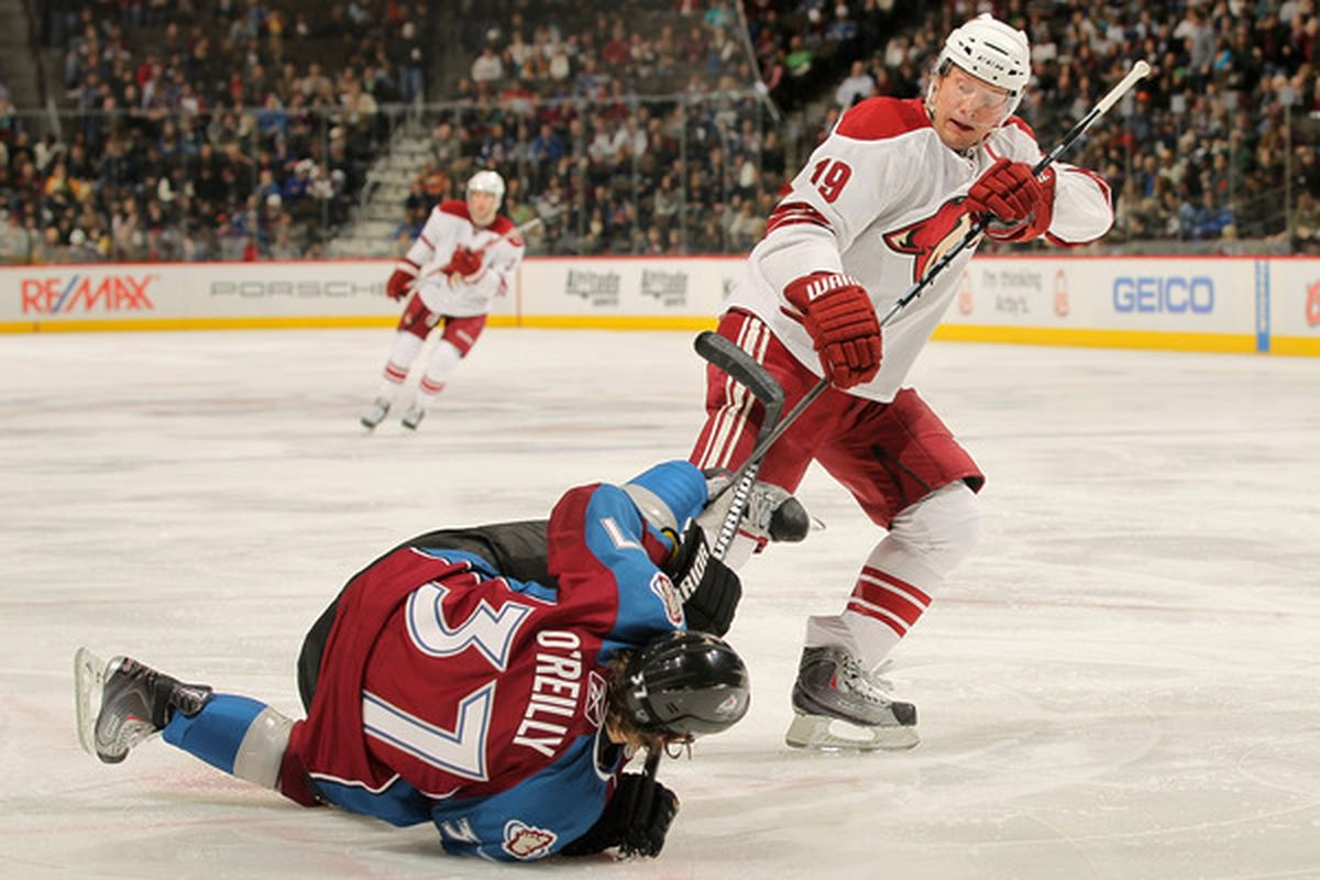 In Russia Ryan O'Reilly woudln't have to deal with bullies like Shane Doan.