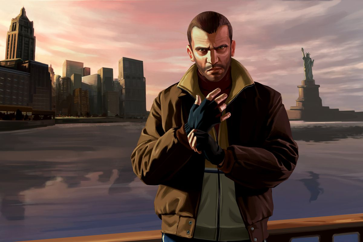 Grand Theft Auto IV (GTA 4) Full Version for PC