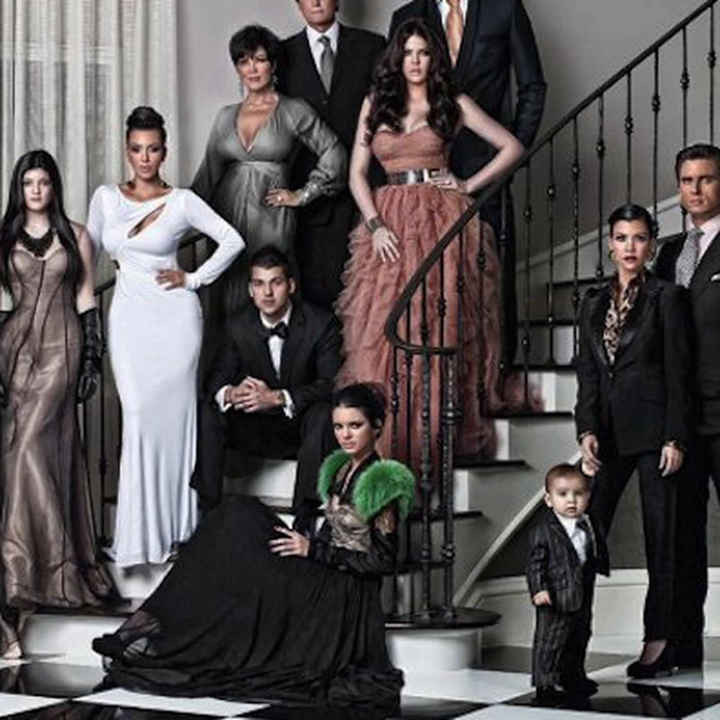 The Kardashian Kristmas Kard is a Kornukopia of 2010\'s Trends - Racked