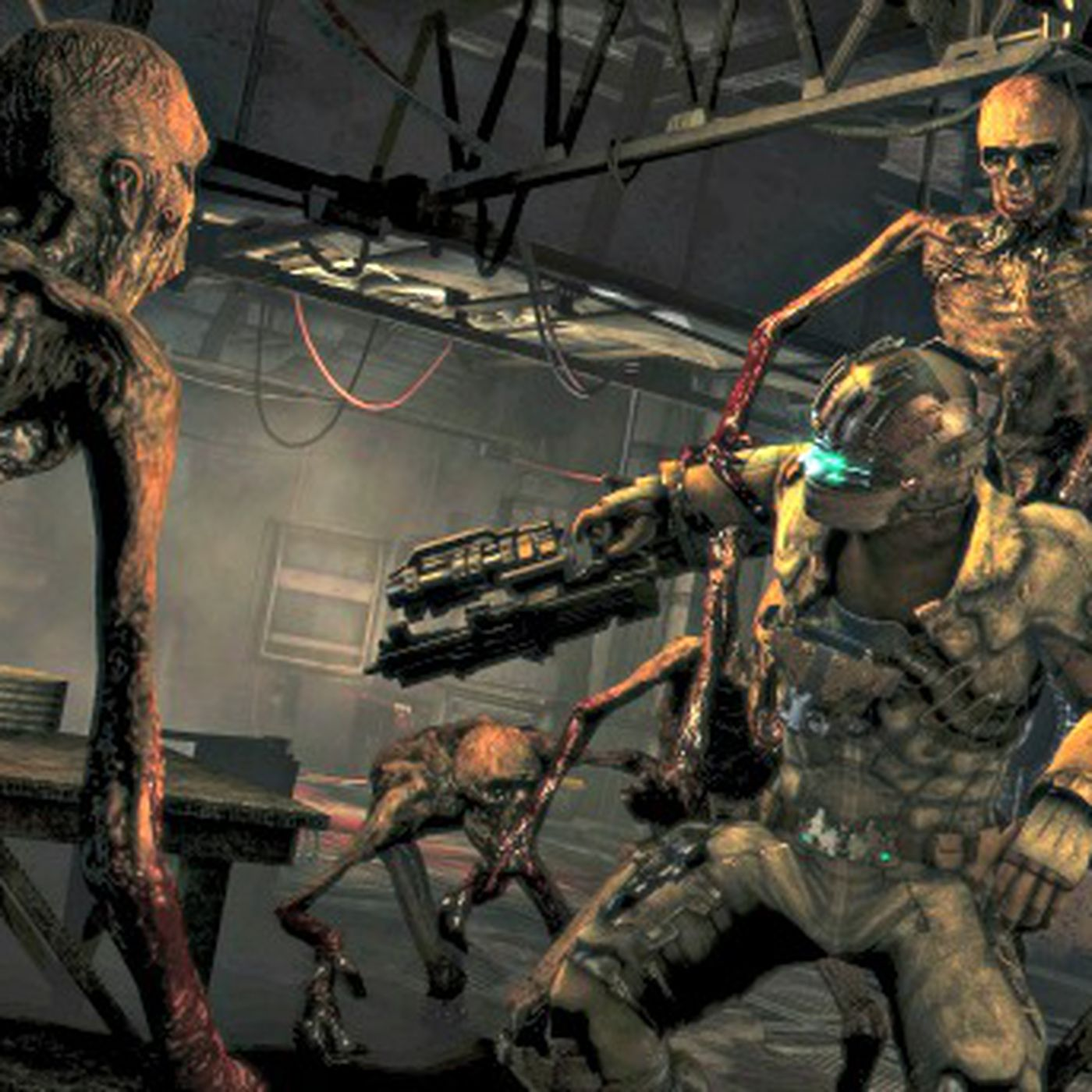 Dead Space 3's' Feeders are gnarly - Polygon