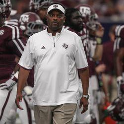 Head coach Kevin Sumlin