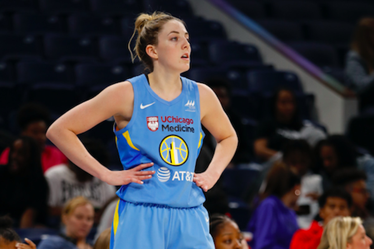 new concept d1953 94a3e Katie Lou Samuelson, Chloe Jackson shine in Chicago Sky ...