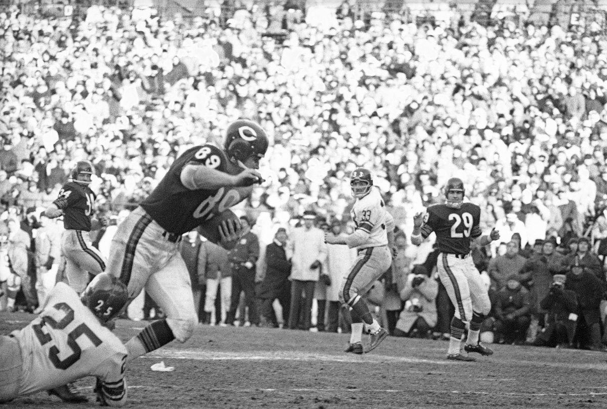 Chicago Bears vs New York Giants, 1963 NFL Championship