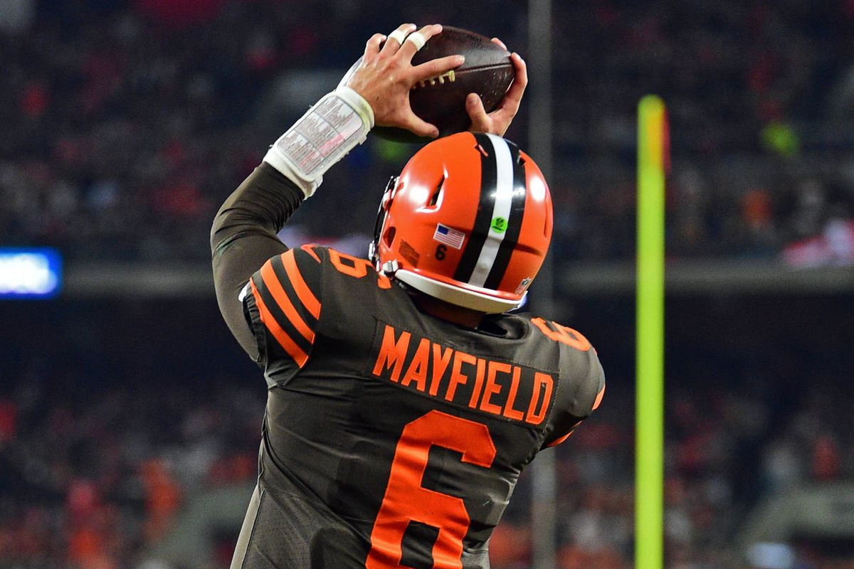 the latest fa05e 6364b 6 reasons Baker Mayfield's 2-point conversion for the Browns ...
