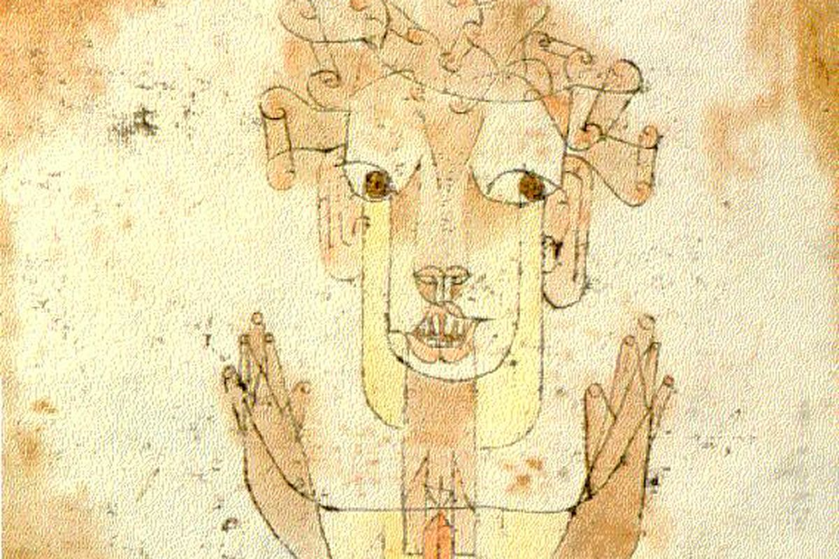 """Angelus Novus,"" Paul Klee"