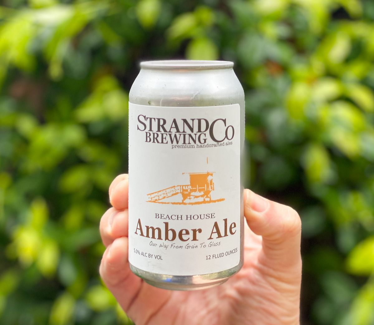 Strand Brewing amber ale