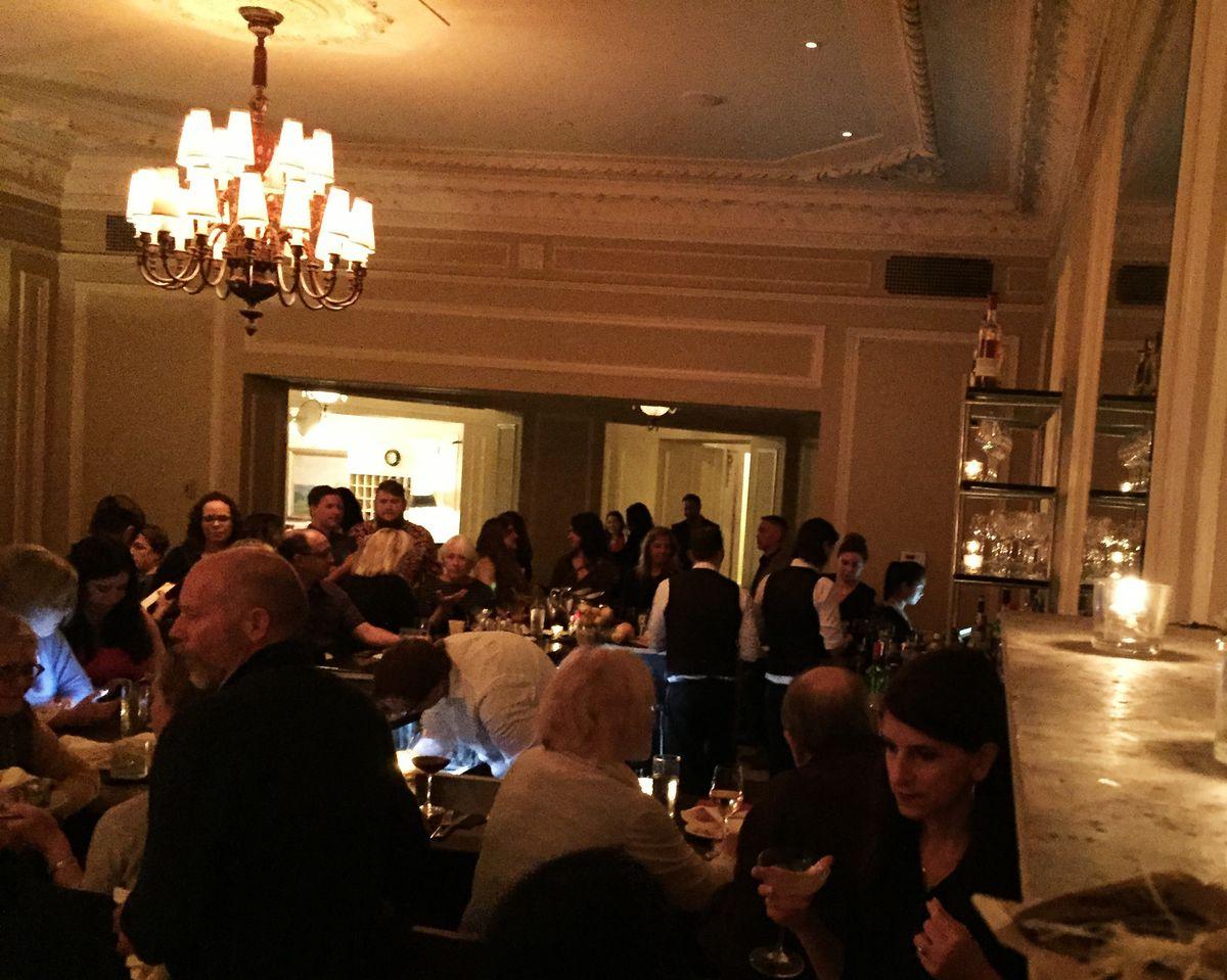One of the final nights inside La Belle Vie's Lounge