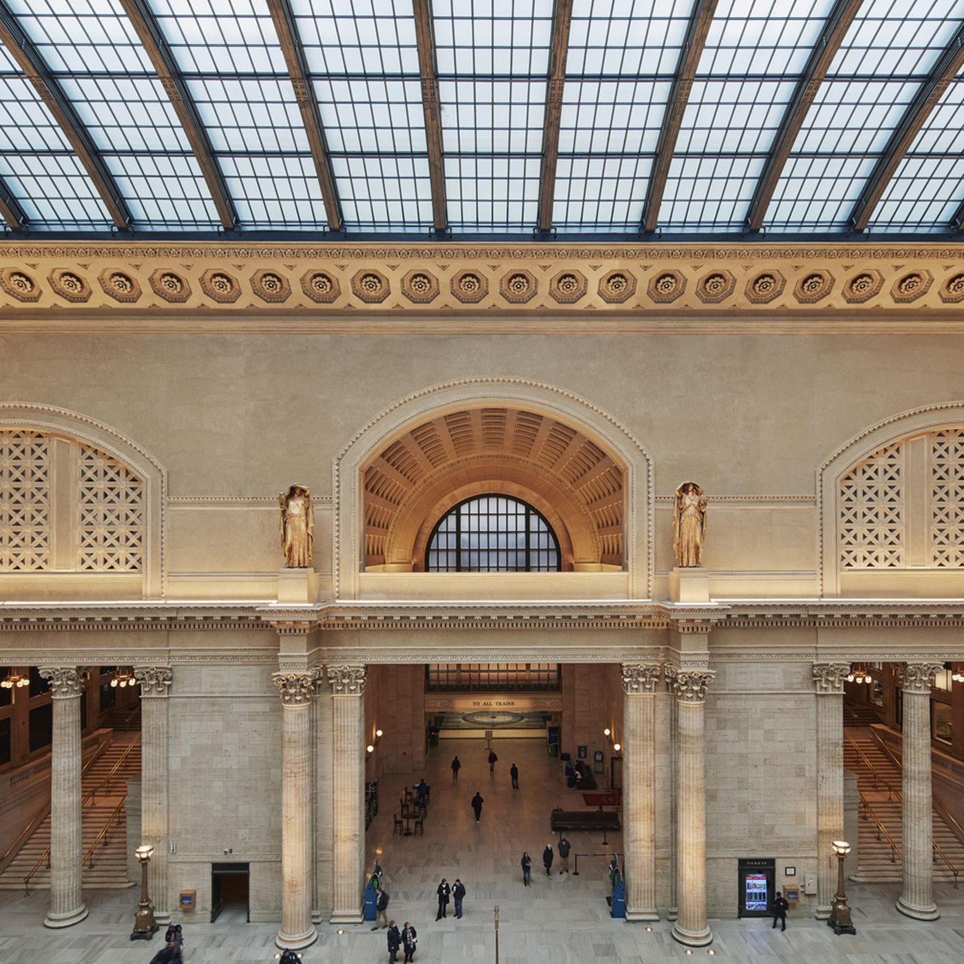 A history of Union Station architecture - Curbed Chicago