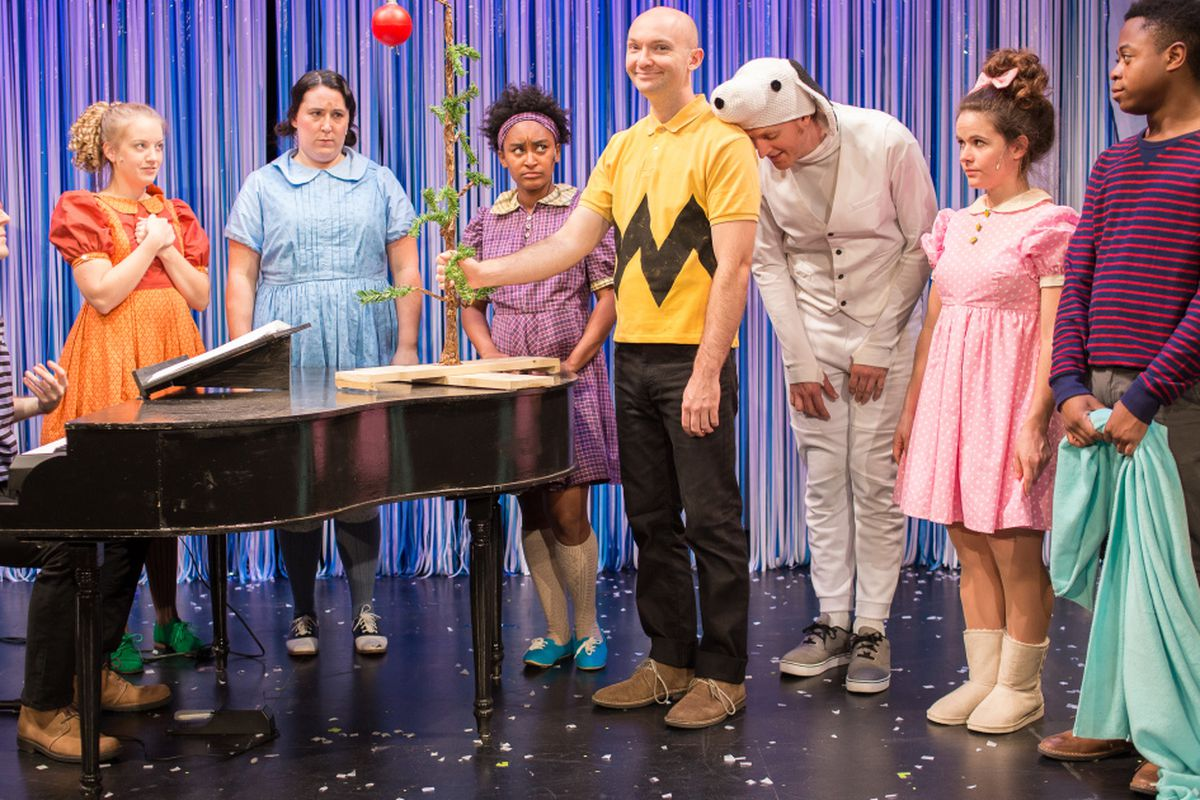 A Charlie Brown Christmas Play.Stage Version Gets The Meaning Of A Charlie Brown Christmas