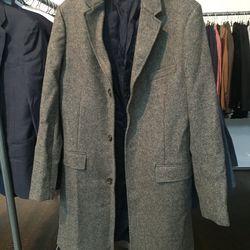Wool overcoat, $150