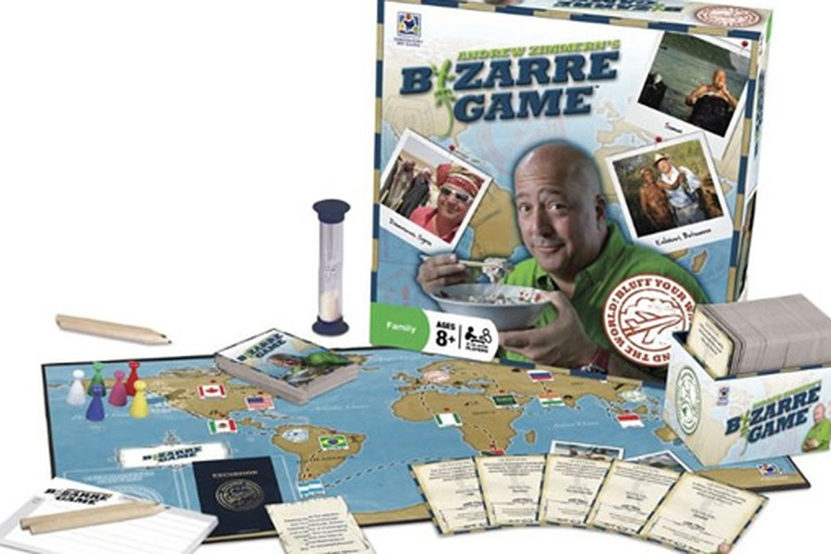 Andrew Zimmern's Bizarre Game.