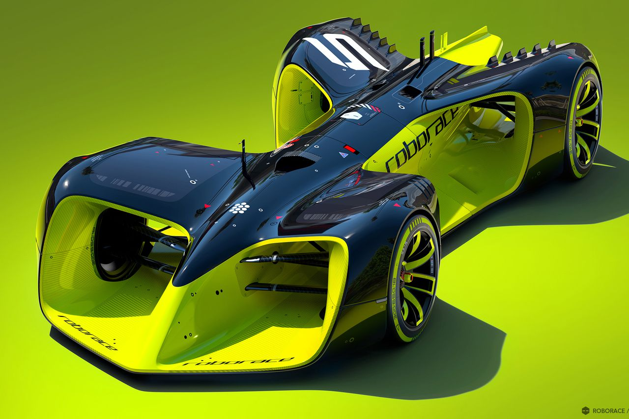 These Are The Crazy Futuristic Cars Of Roborace Worlds First Driverless Racing Series