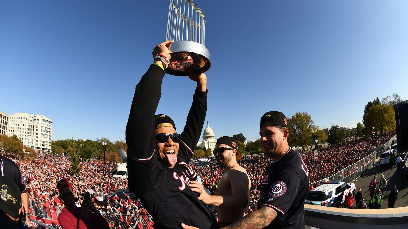 The Nationals' Championship Celebrations and Offseason Predictions