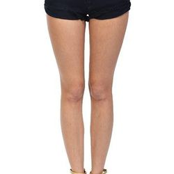 """Black cutoff shorts, <a href=""""http://shopblush.com/shop/clothes/BLB01824-black-cut-off-shorts#.Uzz1Ea1dVi4"""">$38</a>"""