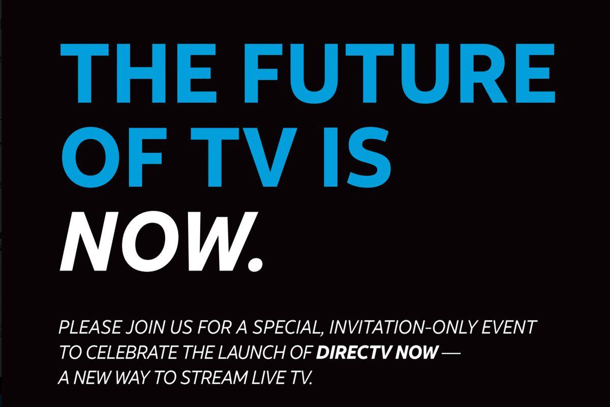 DirecTV Now invite