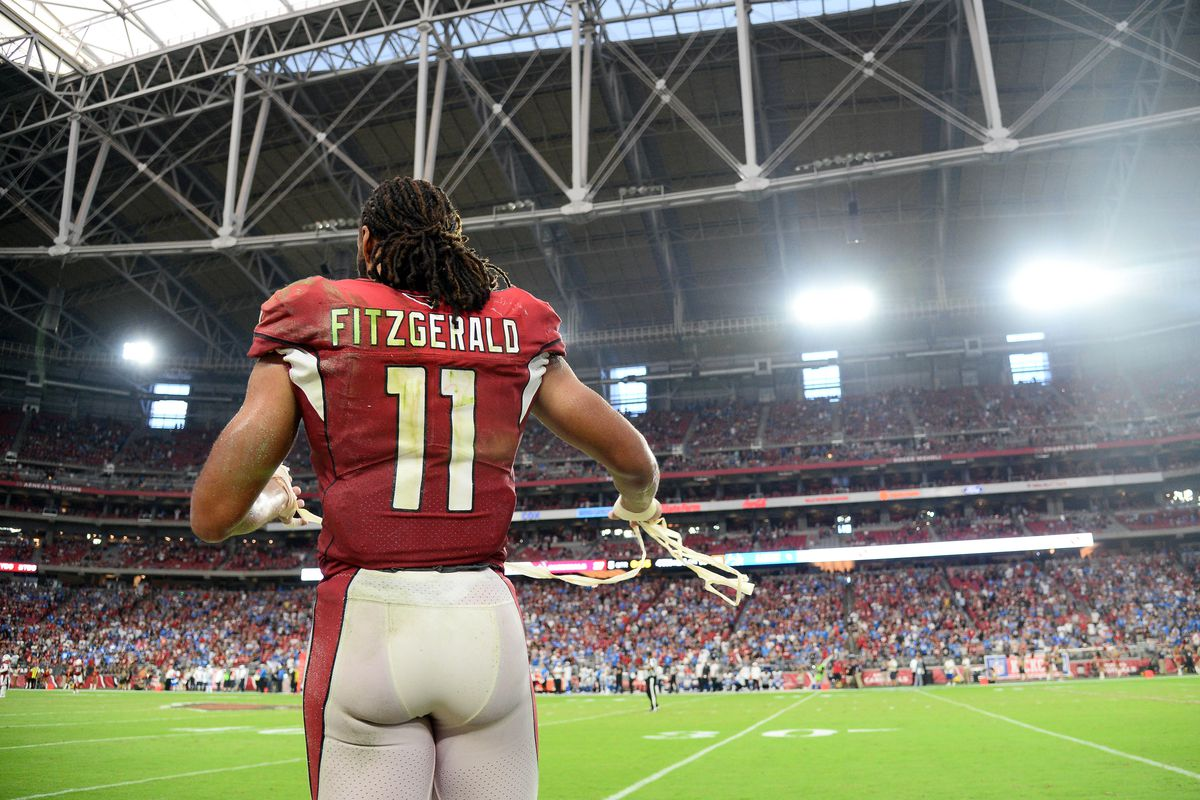 new style 76e72 331eb Larry Fitzgerald sets record, posts 113-yard game - Cardiac Hill