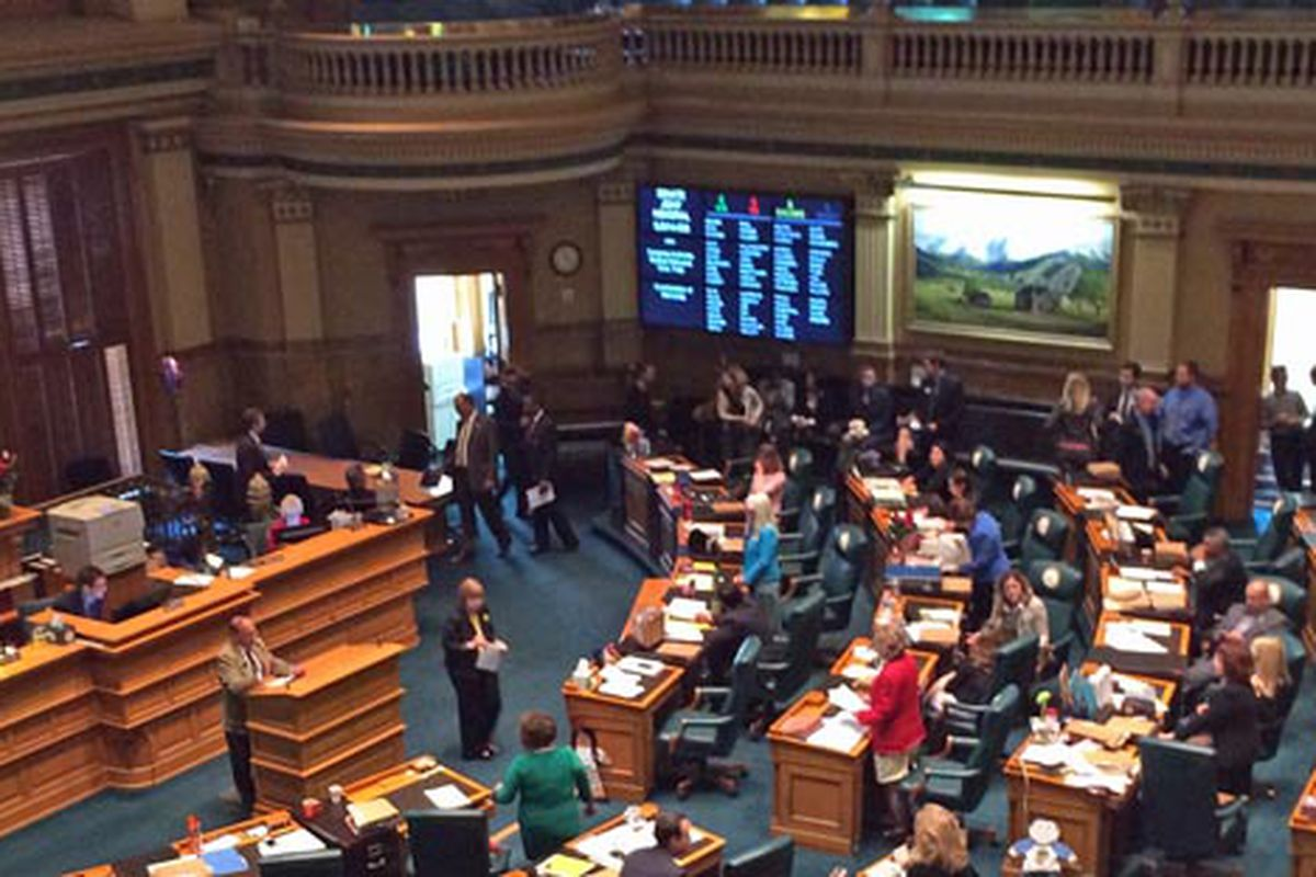 The Colorado House worked through its calendar on the 2014 session's final day.