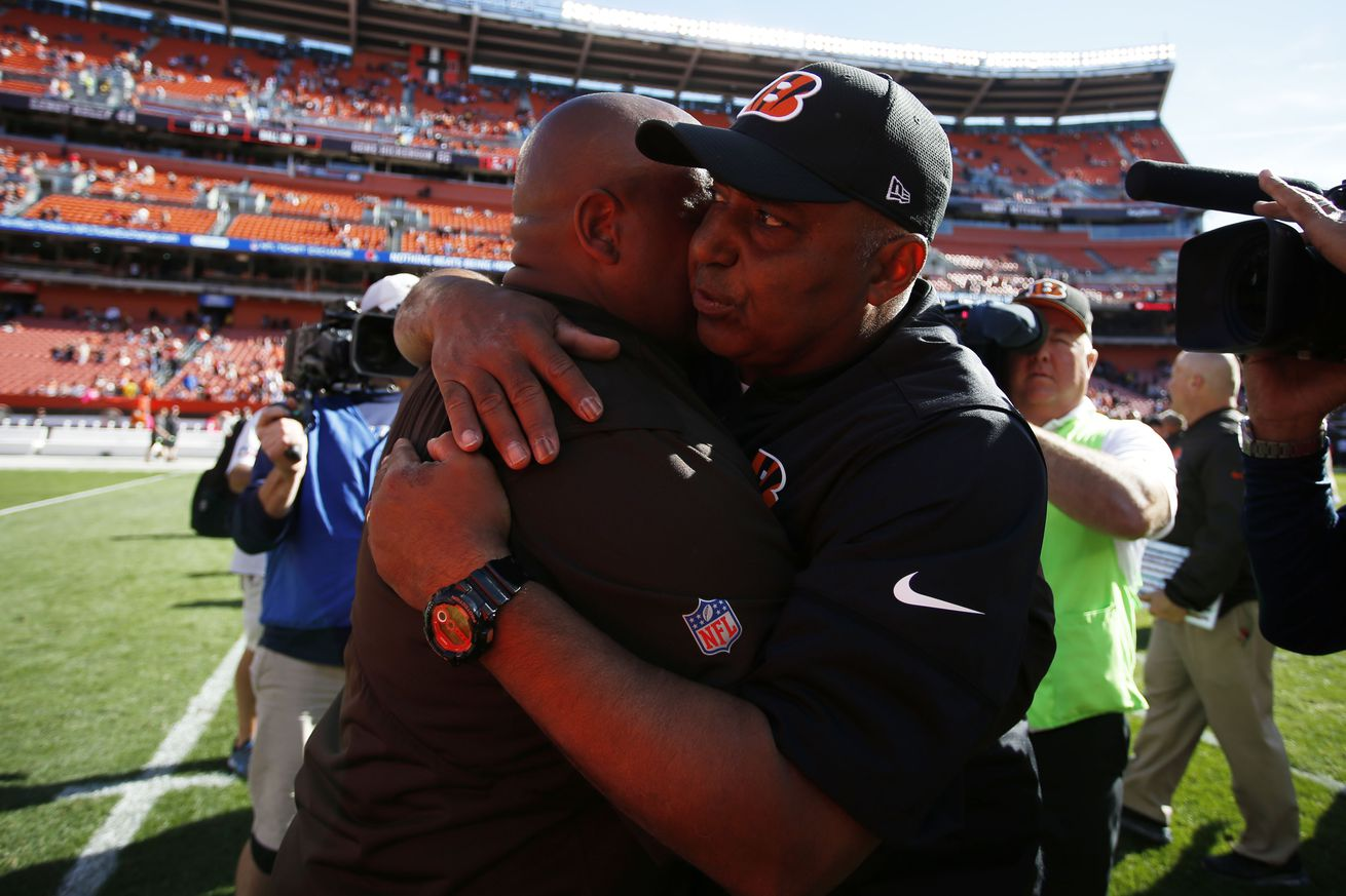 Bengals' coaching revisions make Sunday a curiosity