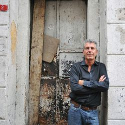 """<a href=""""http://eater.com/archives/2009/05/06/anthony-bourdain-interview.php"""" rel=""""nofollow"""">Eater Interviews Anthony Bourdain, Part One</a> and <a href=""""http://eater.com/archives/2011/05/10/anthony-bourdain-interview-part-2.php"""" rel=""""nofollow"""">Part Two</"""