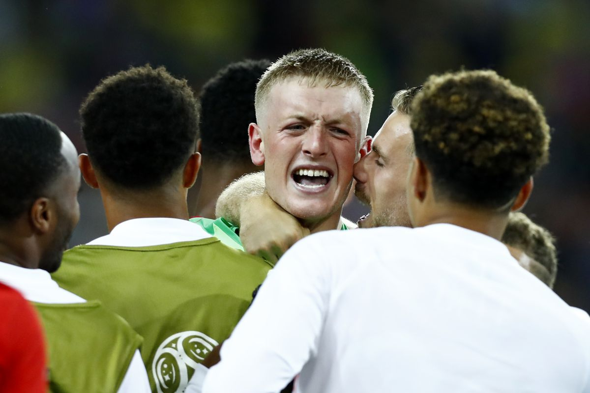 b21432552 Jordan Pickford and Jordan Henderson - the whole of Sunderland (and England!)  are proud of you