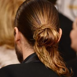The back of the bun.